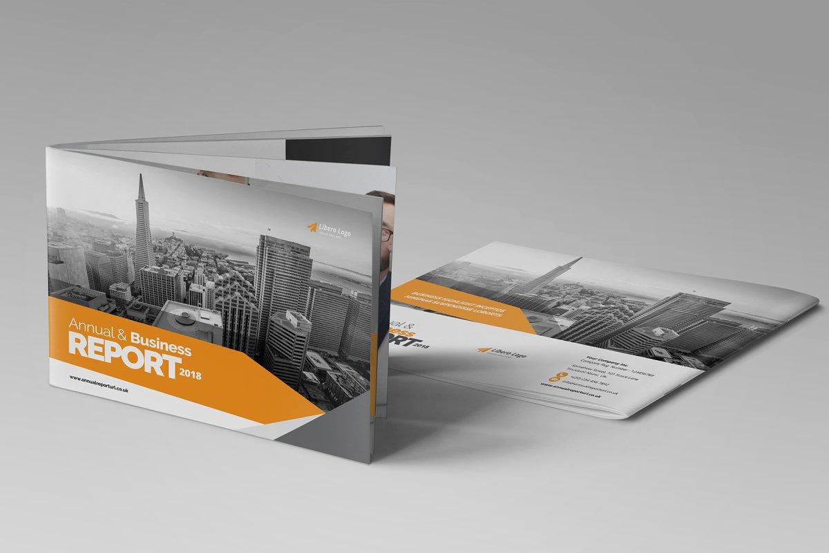 Annual Report Brochure Design v2