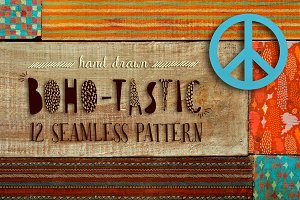 Boho-tastic set: 12 patterns•85% OFF