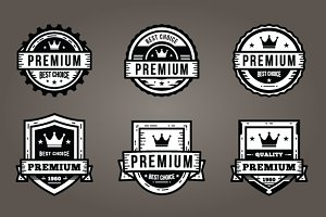 Badge Vintage Logo Pack