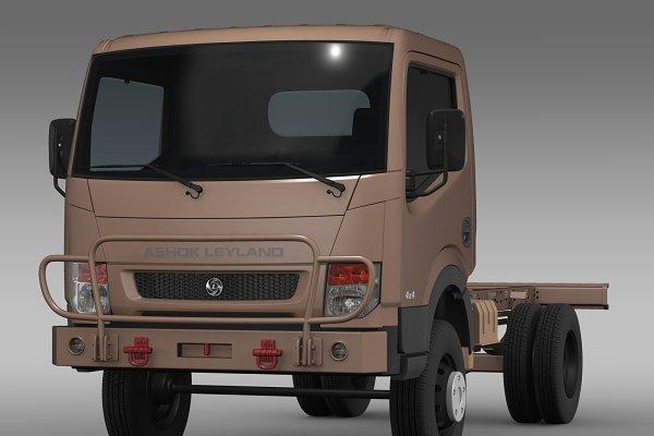 3D Vehicles - Ashok Leyland Garuda Chassi 2015