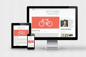 Pretty Hipster - WordPress Theme
