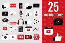 25 YouTube Icons