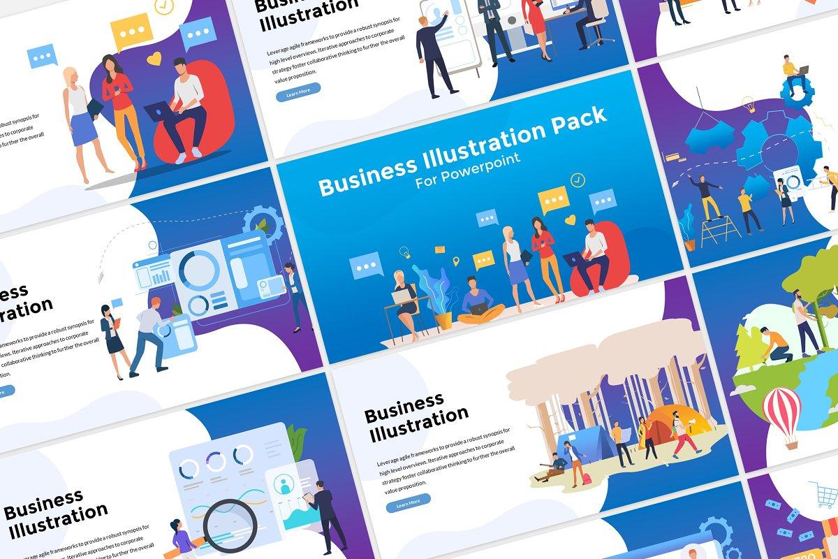 Illustration Pack Presentation