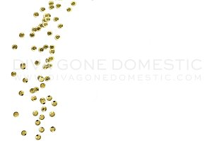 Styled Photography - Gold Sequins