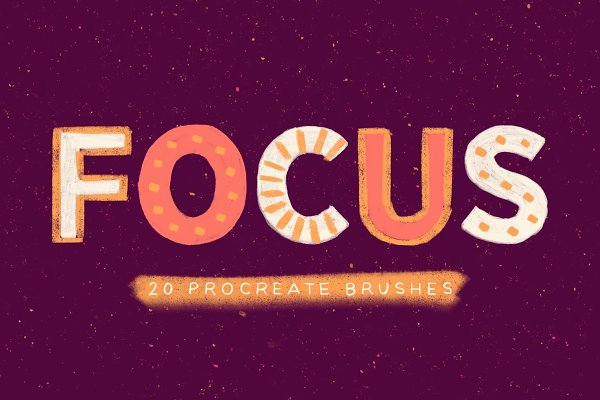 Focus Procreate Brushes
