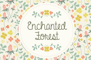 Enchanted Forest Pattern Collection