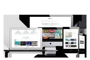 BeAgency - Portfolio WordPress Theme
