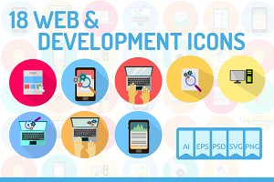 18 WEB & Development Icons