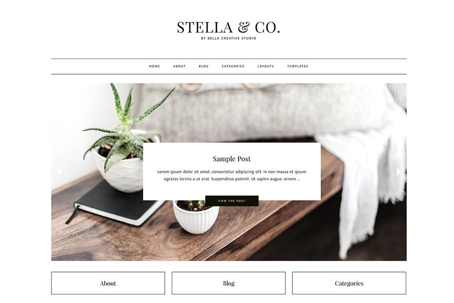 Stella & Co. - WordPress Theme