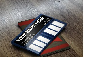 Doctor Who Tardis Business Card