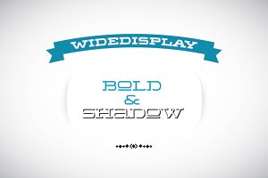 WideDisplay Bold&Shadow