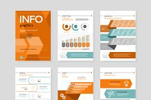 Infographic Business Brochure Banner