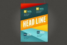 Geometric Lines Brochure Flyer