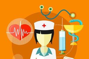 Doctor, Nurse Concept