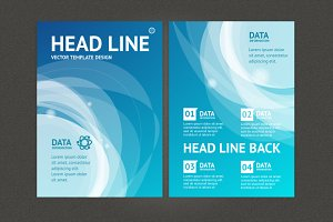 Abstract Geometric Brochure Flyer