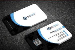 Simple Clean Creative business card