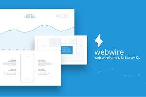 WebWire - Wireframe & UI Starter Kit