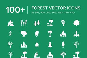 100+ Forest Vector Icons
