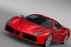 Ferarri GTB 488 2015