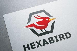 Hexa bird Logo