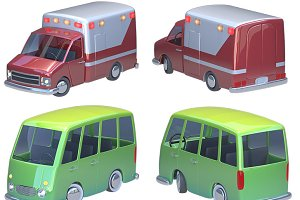 Cartoon car pack