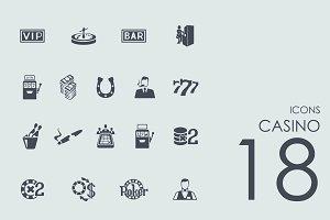 18 casino icons