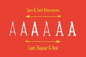 Jovial Font Family + Bonus Elements!