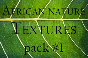 African Nature Textures   Pack #1