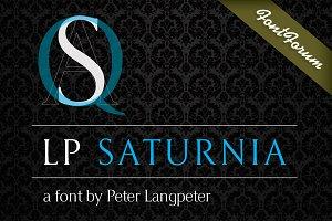 LP Saturnia Font Volume