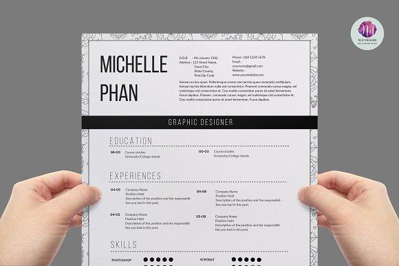 modern 1 page resume resumes