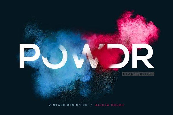 POWDR - Black Edition