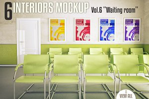 Interior Mock-up Vol. 6