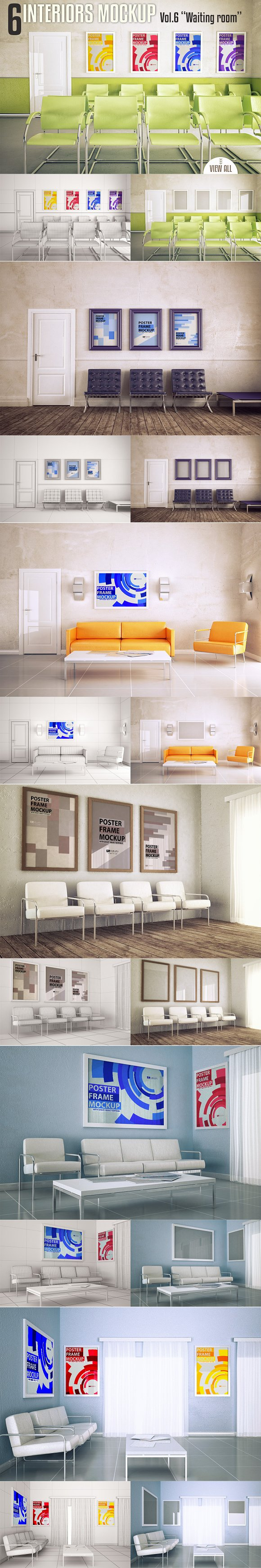 Download Interior Mock-up Vol. 6