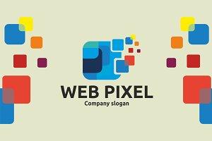 Web Pixel Logo Template