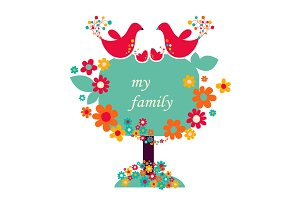 "Illustration ""My family"""