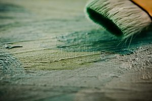 Paint Brush Macro View