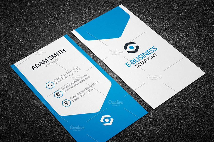 Vertical business card template 04 business card templates vertical business card template 04 reheart Choice Image