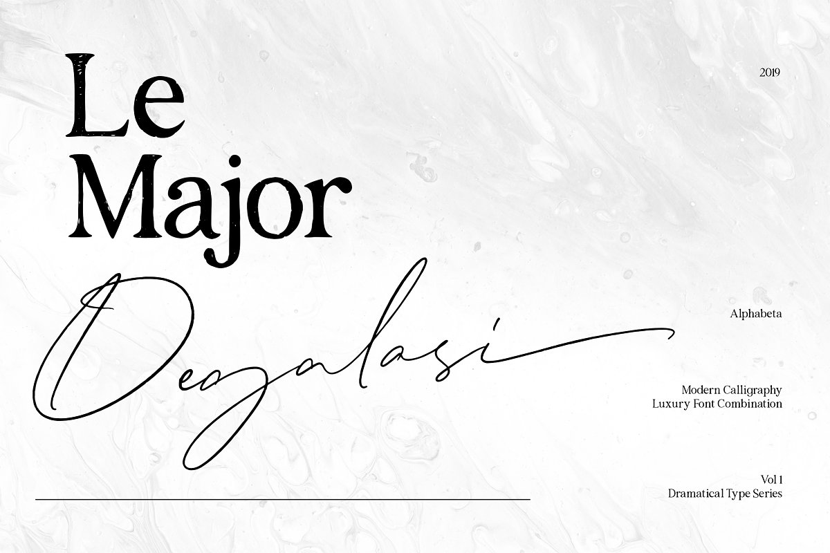 Degalasi | Dramatical Collection in Script Fonts