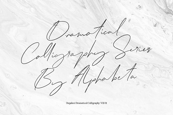 Degalasi | Dramatical Collection in Script Fonts - product preview 1