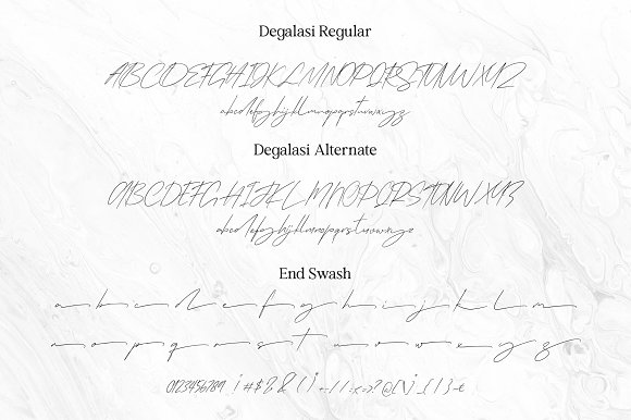 Degalasi | Dramatical Collection in Script Fonts - product preview 14