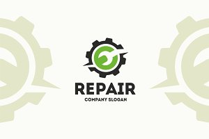 Repair Logo Template
