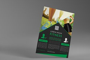 Fitness Flyer/Gym flyer