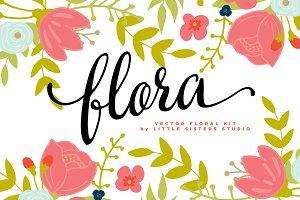 Flora - Floral Vectors