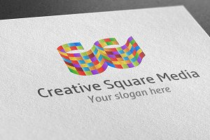 Creative Square Media Logo