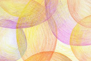 Abstract pencil scribbles background