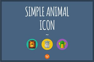 Simple Animal Icon