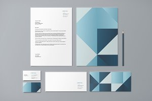 Identity - Facet Blue
