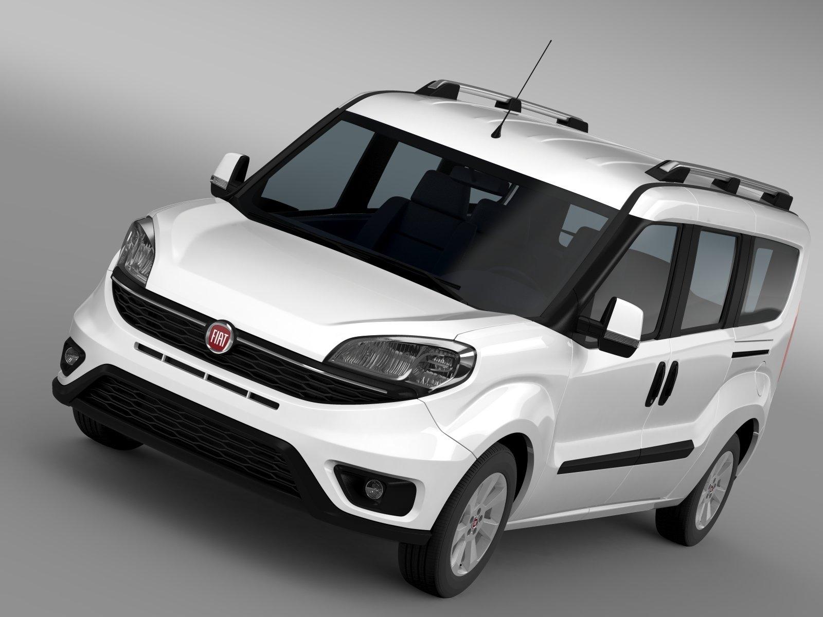fiat doblo maxi 152 2015 vehicles creative market. Black Bedroom Furniture Sets. Home Design Ideas