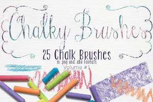 (20% off) Chalky Brushes Volume #1