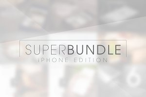 iPhone Mock-Ups: Super Bundle [-75%]
